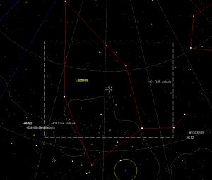 The constellation of Cepheus