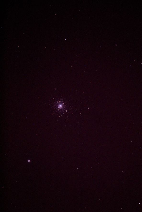 M5. Globular star cluster in Serpens. 30 seconds 800 ISO